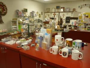 A view of the Gift Shop